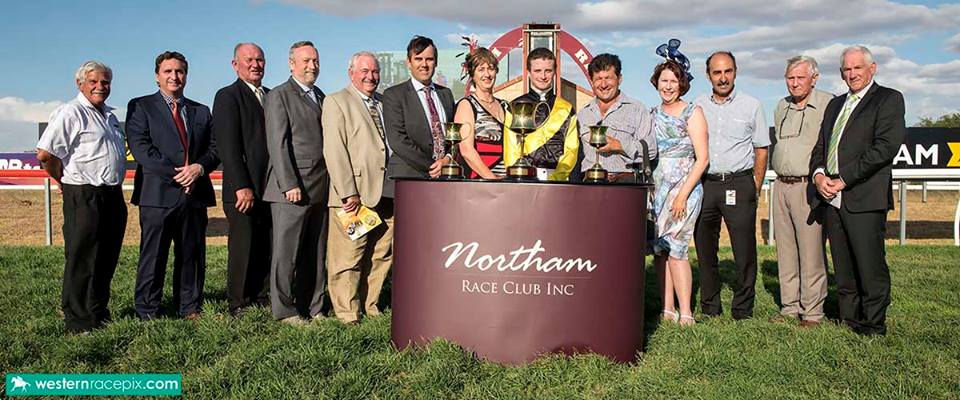young lionel northam cup presentation