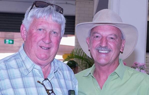 Steve Wolfe (left) & Noel Carter