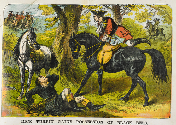 dick Turpin cartoon